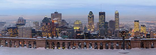 Living in Montreal - Montreal skyline