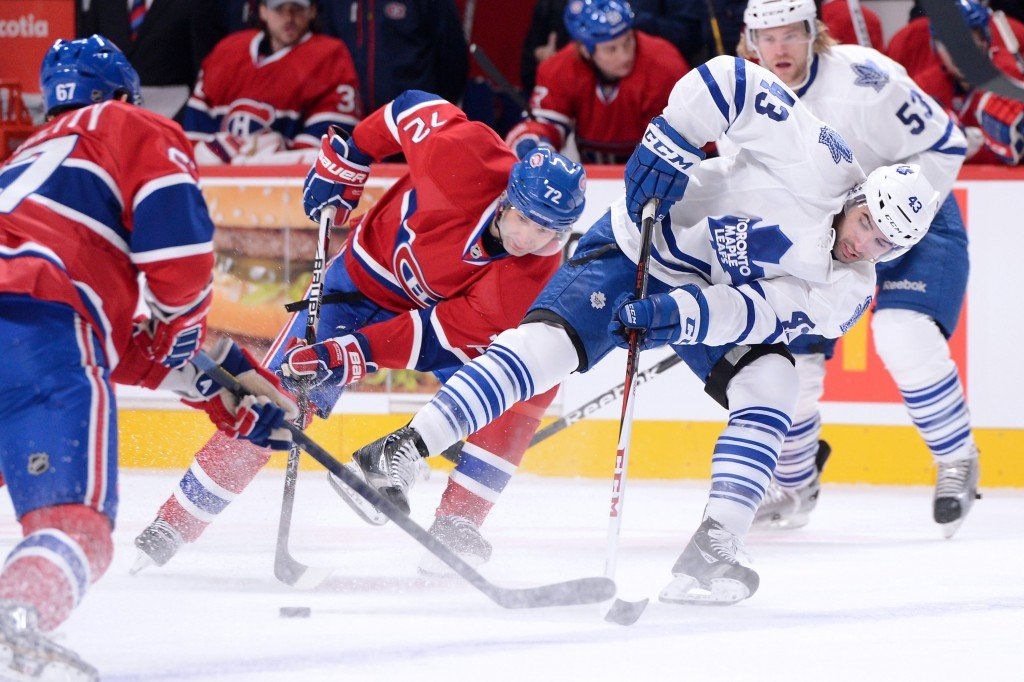 Sports and recreation in Montreal - Toronto Maple Leafs v Montreal Canadiens