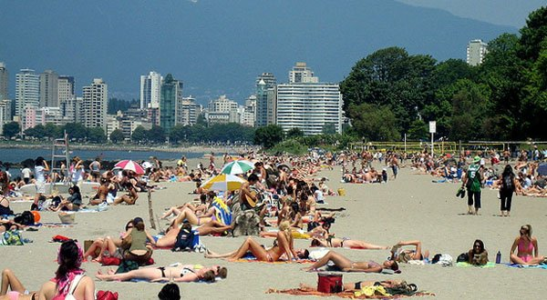 Things to do in Vancouver | Kitsilano Beach