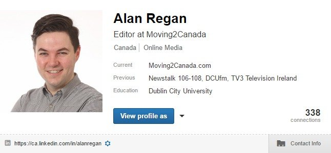 Custom LinkedIn profile URL