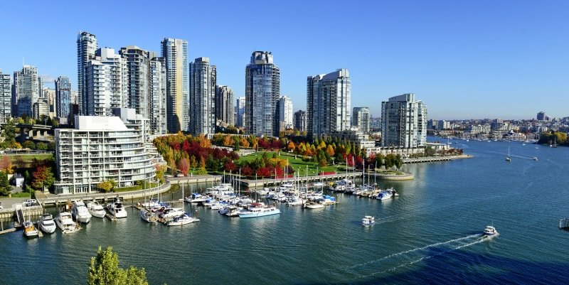Vancouver in the sun
