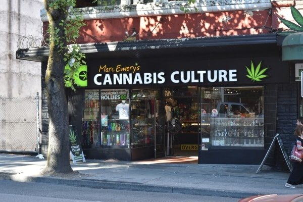 Cannabis store in Vancouver