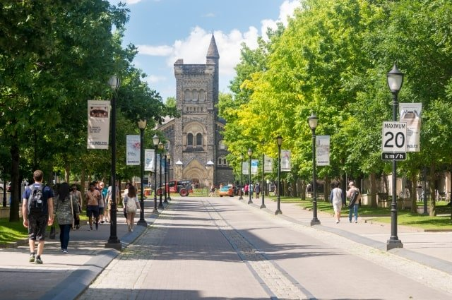 Student accommodation in Canada: University of Toronto St. George campus